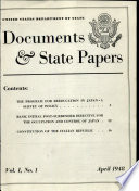 Documents   State Papers