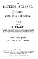 The Banking Almanac, Directory, Year Book and Diary