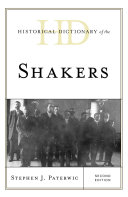 Historical Dictionary of the Shakers