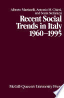Recent Social Trends In Italy 1960 1995