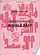 Accessions List, Middle East