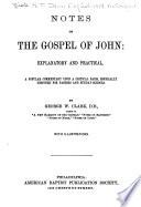 Notes of the Gospel of John