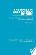 The Horse in West African History Book