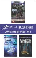 Harlequin Love Inspired Suspense June 2018 - Box Set 1 of 2