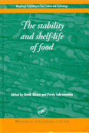 The Stability and Shelf-Life of Food