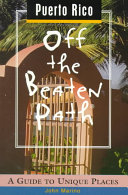 Puerto Rico Off the Beaten Path Book PDF