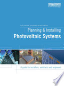 Planning and Installing Photovoltaic Systems