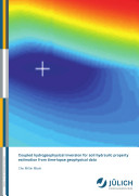 Coupled hydrogeophysical inversion for soil hydraulic property estimation from time-lapse geophysical data
