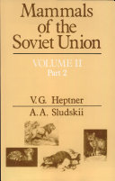 Mammals of the Soviet Union, Volume 2 Part 2 Carnivora (Hyenas and Cats)