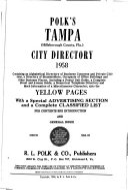 Pdf Tampa (Hillsborough County, Fla.) City Directory