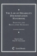 The Law of Disability Discrimination Document Supplement