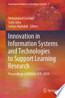 Innovation In Information Systems And Technologies To Support Learning Research Book PDF