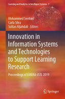 Pdf Innovation in Information Systems and Technologies to Support Learning Research
