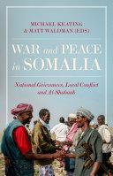 War and Peace in Somalia Pdf/ePub eBook