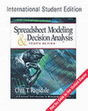 Spreadsheet Modeling and Decision Analysis Book