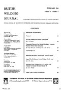 British Welding Journal Book