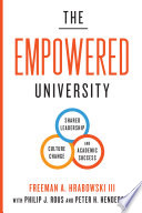 The empowered university : shared leadership, culture change, and academic success