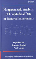 Nonparametric Analysis of Longitudinal Data in Factorial Experiments