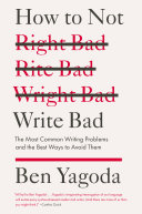 Pdf How to Not Write Bad