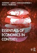 Essentials of Economics in Context