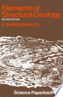 Elements of Structural Geology