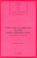 Pdf The Fate of Fortune in the Early Middle Ages