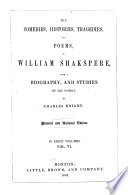 The Comedies Histories Tragedies And Poems