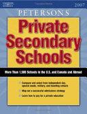 Peterson s Private Secondary Schools 2007 Book