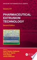 Pharmaceutical Extrusion Technology