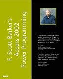 F  Scott Barker s Access 2002 Power Programming