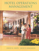 Cover of Hotel Operations Management