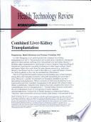 Combined Liver-kidney Transplantation