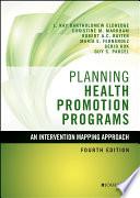 Planning Health Promotion Programs Book PDF