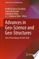 Advances in Geo Science and Geo Structures Book