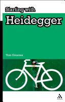 Pdf Starting with Heidegger Telecharger