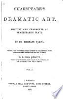 Shakespeare s Dramatic Art