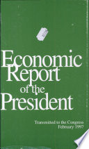Economic Report of the President of the United States, 1996
