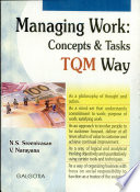 Managing Work: Concepts & Tasks TQM Way