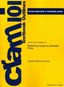 Outlines and Highlights for Mastering Arcgis by Maribeth Price  Isbn Book