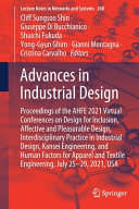 Advances in Industrial Design