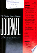 Journal of the Canadian Dental Association  : Journal de L'Association Dentaire Canadienne