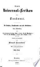 Neues universal-Lexikon der Tonkunst