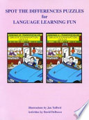 Spot the Difference Puzzles for Language Learning Fun Book