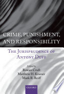 Crime  Punishment  and Responsibility Book