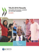 TALIS 2018 Results  Volume I  Teachers and School Leaders as Lifelong Learners