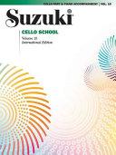 Suzuki Cello School, Vol 10: Cello Part
