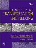 Pdf PRINCIPLES OF TRANSPORTATION ENGINEERING