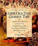 1 001 Old Time Garden Tips Book