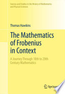 The Mathematics Of Frobenius In Context Book PDF