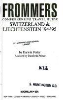 Frommer s Switzerland and Leichten  94 95